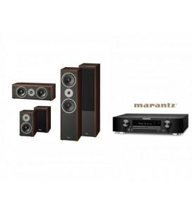 Receiver Marantz NR1506 cu Set Boxe 5.0 Heco Victa Prime 502, 202, C102