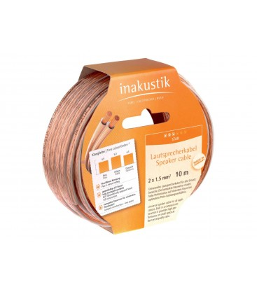 Cablu boxe Inakustik Star Speaker Cable 2x2.5mm 003022, rola 10m