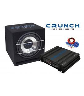 Pachet subwoofer auto Crunch Junior Box Pack