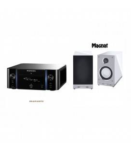 Receiver Stereo MARANTZ MELODY MEDIA M-CR611 Black cu Boxe Magnat Edelstein Piano White
