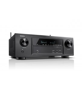 Receiver AV 7.2 Denon AVR-X1300W Black, Wi-Fi, Airplay, Bluetooth, 4K Ultra HD, HDCP 2.2