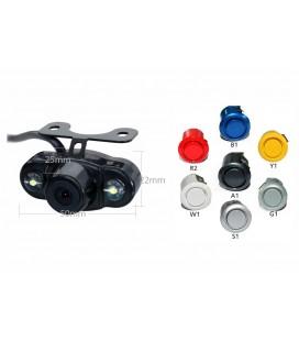 Pachet senzori de parcare audio video si camera video auto EDOTEC EDT-PARK-CAM