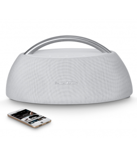 Boxa Wireless Portabila Harman Kardon Go + Play White, conectivitate Bluetooth 4.1