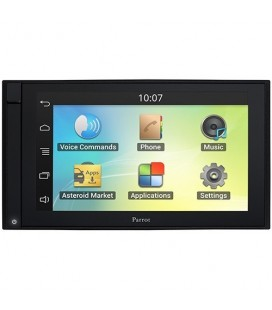 "DVD Auto Parrot Asteroid Smart, car kit Bluetooth, Navigatie cu GPS, 6.2"" Touch Screen, Conexiune la internet 3G-4G stick"