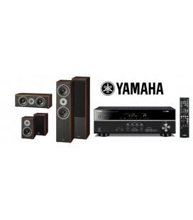 Receiver Yamaha RX-V383 cu Set de Boxe 5.0 Magnat Supreme 802, 102, Center 252