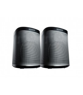 Set 2 Boxe stereo wireless Sonos Play:1 Black