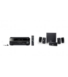Receiver AV Yamaha RX-V481 cu Set de Boxe JBL 5.1 Cinema 610
