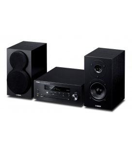 Micro sistem stereo Yamaha MCR-N470 Black, Wi-Fi, MusicCast, AirPlay® and Bluetooth®