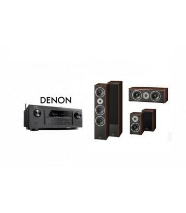 Receiver DENON AVR-X1200 cu Set Boxe 5.0 Magnat Supreme 1002