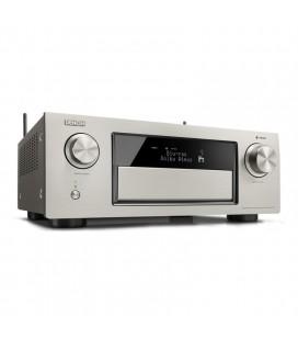 Receiver AV 11.2 Denon AVR-X6300H Silver, Full 4K Ultra HD, HEOS, Dolby Atmos, DTS:X, HDCP2.2