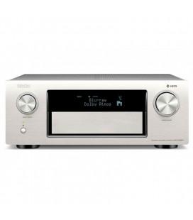 Receiver AV 9.2 Denon AVR-X4300H Silver, Full 4K Ultra HD, HEOS, Dolby Atmos, DTS:X, HDCP2.2