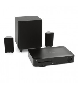 Sistem Home Cinema 2.1 Harman Kardon BDS 335, 4K 3D Blu-ray Disc, Wi-Fi, Bluetooth®