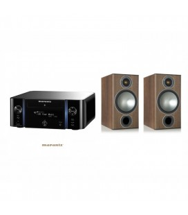 Receiver Stereo MARANTZ MELODY MEDIA M-CR611 Black cu Boxe deraft Monitor Audio Bronze 2