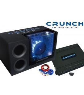 Pachet subwoofer auto Crunch Premium 500 BP Pack