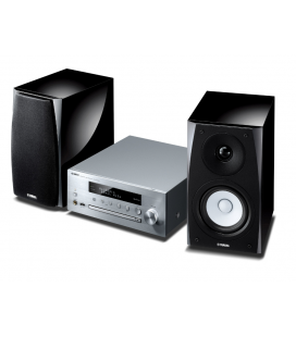 Micro sistem stereo Yamaha MCR-N570D Silver, DAB, Wi-Fi, MusicCast, AirPlay® and Bluetooth®.