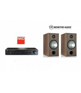 Amplificator NAD C 316BEE cu Boxe Monitor Audio Bronze 2