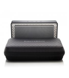 Boxa wireless portabila cu Bluetooth Bowers & Wilkins T7 Black si Husa Cadou