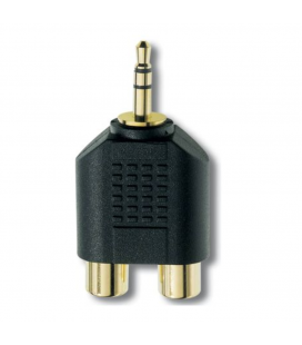 Adaptor audio stereo Inakustik Premium RCA Phone-Plug Adapter