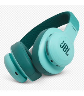 Casti wireless over ear JBl Synchros E55BT Teal cu Bluetooth
