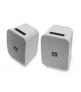Boxe wireless portabile pentru exterior JBL Control X Wireless White - pereche