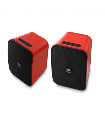 Boxe wireless portabile pentru exterior JBL Control X Wireless Red - pereche