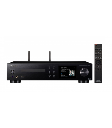 Network CD Receiver Pioneer NC-50DAB-K, Wi-Fi, Bluetooth, Airplay, Chromecast, gapless streaming, Hi-Res, DSD capability