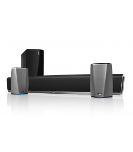 Sistem Home Cinema Soundbar 5.1 multiroom Denon Heos Bar,Heos Subwoofer, Heos 1 HS2