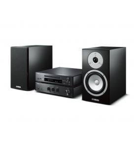 Micro sistem stereo Yamaha MCR-N670 Black, USB, Wi-Fi, MusicCast, AirPlay® and Bluetooth®.