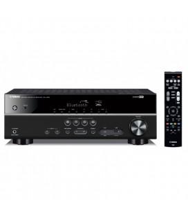 Receiver AV 5.1 Yamaha RX-V383 Black, Bluetooth®, HDMI® 4K UHD, HDR Video, Dolby Vision, Hybrid Log-Gamma, BT.2020