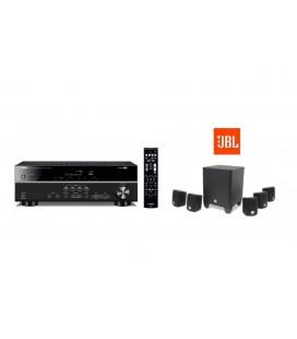Receiver AV 5.1 Yamaha RX-V383 cu set de boxe 5.1 JBL Cinema 510