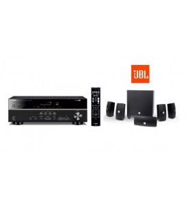 Receiver AV 5.1 Yamaha RX-V383 cu Set de Boxe 5.1 JBL Cinema 610