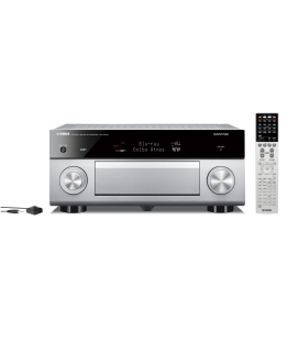 Receiver multicanal AV Yamaha RX-A3070 Titan, 11.2 canale, UHD 4K, Dolby Atmos® and DTS-X™, ESS DAC, deezer, Tidal, DAB, DAB+