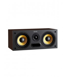 Boxe de raft Davis Acoustics Central Sacha Walnut