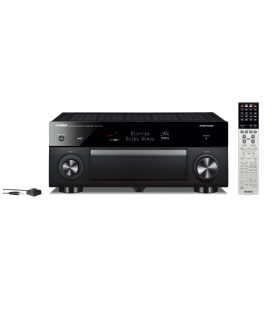 Receiver multicanal AV Yamaha RX-A1070 Black, 7.2 canale, UHD 4K, Dolby Atmos® and DTS-X™, ESS DAC, Deezer, Tidal, DAB, DAB+