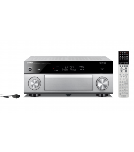 Receiver multicanal AV Yamaha RX-A1070 Titan, 7.2 canale, UHD 4K, Dolby Atmos® and DTS-X™, ESS DAC, Deezer, Tidal, DAB, DAB+