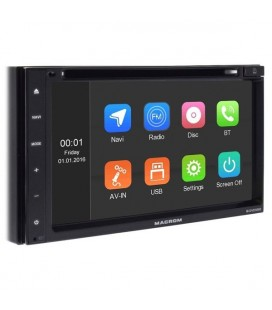 DVD Auto 2 DIN Macrom M-DVD5000 DVD, USB, SD, Bluetooth si GPS