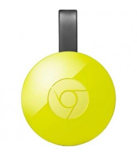 HD Media Player Google Chromecast 2.0 HDMI Yellow