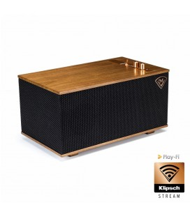 Boxe Wireless wi-fi Multiroom Klipsch The Three - Walnut