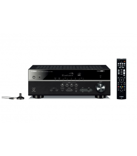 Receiver multicanal AV Yamaha MusicCast RX-V483 Black, 5.1 canale, WI-FI, Airplay, Bluetooth, 4K Ultra HD, HDCP 2.2