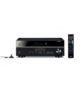 Receiver multicanal AV Yamaha MusicCast RX-V583 Black, 7.2 canale, WI-FI, Airplay, Bluetooth, 4K Ultra HD, HDCP 2.2