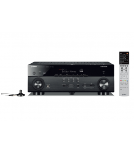 Receiver multicanal AV Yamaha RX-A670 Black, 7.2 canale, UHD 4K, Dolby Atmos® and DTS-X™, ESS DAC, Deezer, Tidal