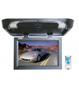 Monitor auto de plafon PYLE PLRD175IF, 17inch, USB, dvd player, Wireless FM Modulator & IR Transmitter