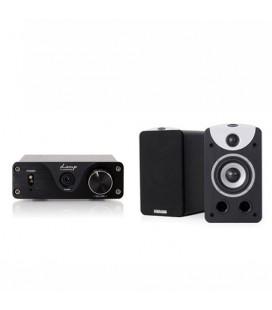 Amplificator Dynavoice AMP 1 cu Boxe Dynavoice Magic S4 EX Black