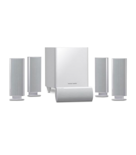 Set de boxe 5.1 surround Harman Kardon HKTS 30 White