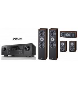 Receiver Denon AVR-X540BT cu Set de Boxe 5.0 Magnat Supreme 802,102,252