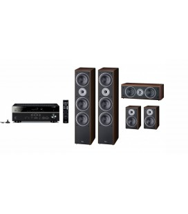 Receiver AV 5.2 Yamaha RX-V483 cu set de Boxe 5.0  Magnat Supreme 1002,202, Center 252