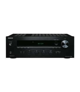 Receiver stereo Hi-Fi Onkyo TX-8020 Black, Tuner, Phono Input, Optical in