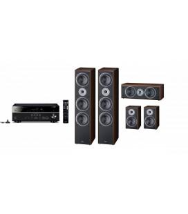 Receiver Yamaha RX-V481 cu set de Boxe 5.0  Magnat Supreme 1002,202, Center 252
