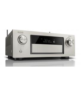 Receiver AV 11.2 Denon AVR-X6400H SIlver, Full 4K Ultra HD, HEOS, Dolby Atmos, DTS:X, HDCP2.2