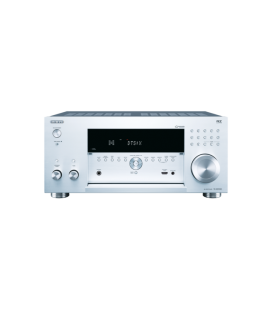 Network A/V Receiver 11.2 CANALE Onkyo TX-RZ3100 silver, DTS-X, Dolby Atmos, THX, Chromecast, AirPlay, Wi-Fi, Bluetooth